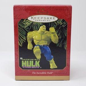 1997 HallmarkThe Incredible Hulk Ornament.